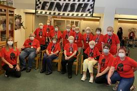 Seniors at Greenfield Retirement Home in Princeton take on Spartan Challenge
