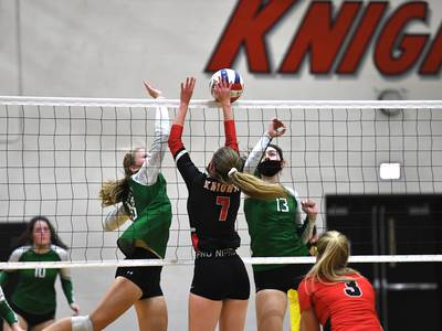 Lincoln-Way Central needs 3 sets to top Providence Catholic