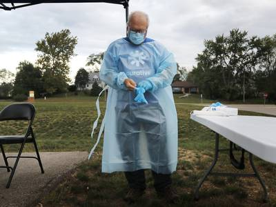 Five new COVID-19 deaths reported in Kane County over the weekend