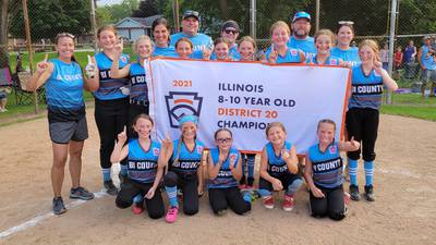 Bi-County 9-10 softball tops Oglesby, takes D-20 title