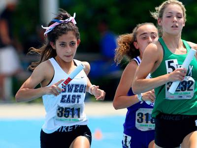Photos: Class 3A Girls Track and Field State Meet