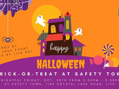 Lake in the Hills to host trick-or-treating at police department's Safety Town