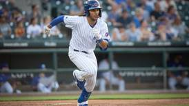 Is Michael Hermosillo in Friday's starting lineup for Cubs at Wrigley?