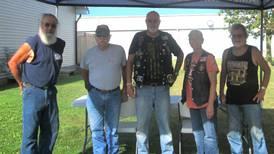 American Legion Riders participate at Big Thunder Run