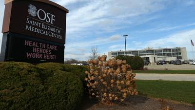 OSF says 78% of those hospitalized with COVID-19 unvaccinated