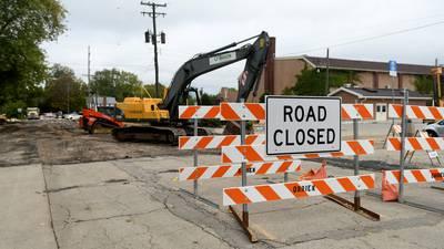 North 5th Street, parking lot construction starts Oct. 11