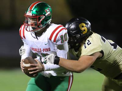 Photos: Sycamore topples LaSalle-Peru on homecoming