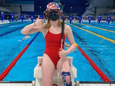 Prairie Ridge grad Makayla Nietzel 'blown away' by competing in Tokyo Paralympic Games