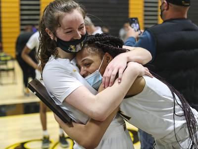 Photos: Joliet West girls basketball wins the SPC Championship