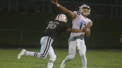 Photos: Prairie Ridge  vs Burlington Central football