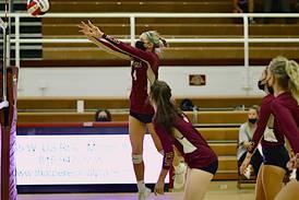 Girls volleyball: Morris captures three-set win over Sandwich