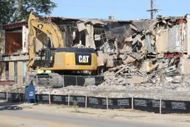 Photos: Demolition of old DeKalb Municipal Building continues