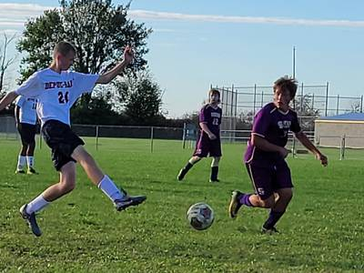 1A regional boys soccer: Serena scores in final minute to slip past DePue-Hall in semifinal