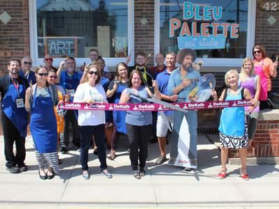 DeKalb Chamber welcomes Bleu Palette