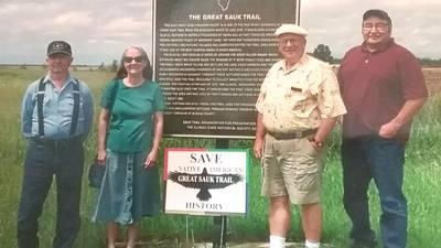 Pioneer Struggles: Great Sauk Trail 'Where Mastodons Walked'