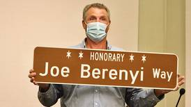 'Joe Berenyi Way': Oswego names intersection in honor of local Paralympian