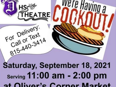Dixon High theater kids having a fundraiser cookout Saturday