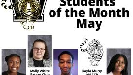 Services clubs recognized these Joliet high school students