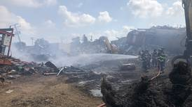 No injuries, property damage reported from DeKalb scrap yard fire on Thursday, fire chief says
