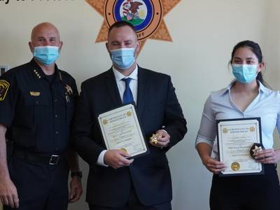 Kendall County Sheriff's Office hires two patrol deputies