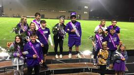 Dixon H.S. homecoming court named
