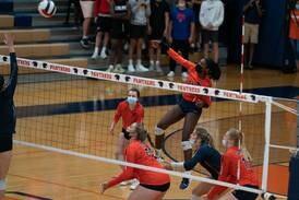 Photos: Oswego vs. Oswego East volleyball