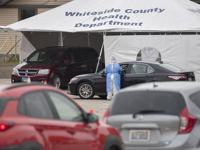 Whiteside County pauses Wednesday walk-in shots