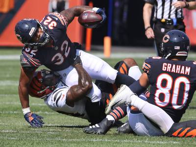 3 and Out: Bears survive late scare from Bengals
