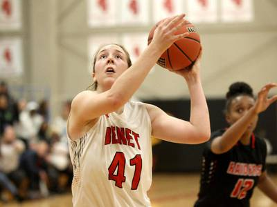 Girls Basketball: 'I want that personal growth' Benet's Morgan Demos follows path to lead, commits to Navy
