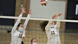 Volleyball: Sterling overcomes slow starts to top United Township in straight sets