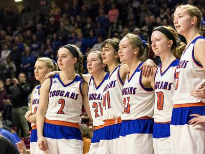 Lady Cougars finish second at Class 1A tourney