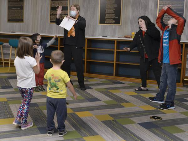 """Photo: Streator Library hosts """"A Visit to a Haunted House"""""""