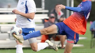 Photos: Genoa-Kingston soccer hosts Hinckley-Big Rock in Class 1A Regional semifinal