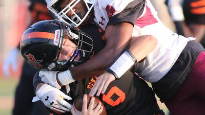 Photos: DeKalb football welcomes downstate foe Belleville West