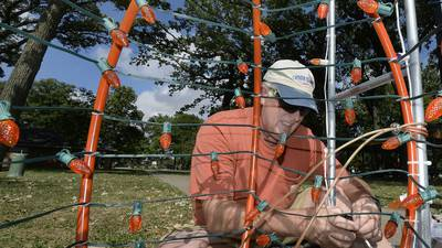 Photos: Light Up Streator decorates for fall