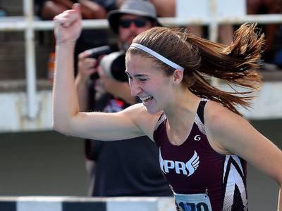 Northwest Herald 2021 Girls Track and Field Athlete of the Year: Prairie Ridge's Rylee Lydon