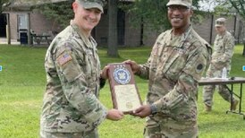 Marseilles unit honored at Army-level for supply excellence