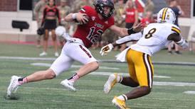 Photos: NIU football welcomes University of Wyoming to DeKalb