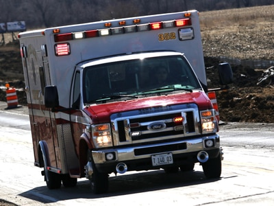 Lisle man cited, injured in motorcycle accident