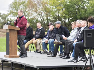 From the heart: Dixon Park district's leader emotional over community center groundbreaking