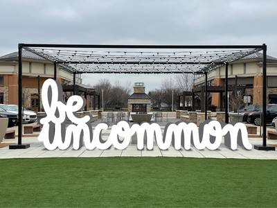'Be Uncommon' sculpture to be unveiled at Geneva Commons next week