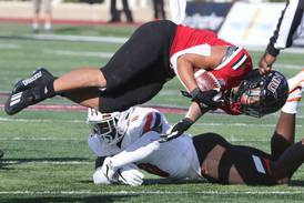 Fighting through adversity, Jay Ducker becomes first NIU back to rush for 200 yards in a game in almost a decade
