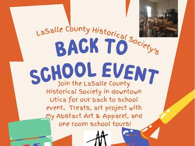La Salle County Historical Society hosts back to school event
