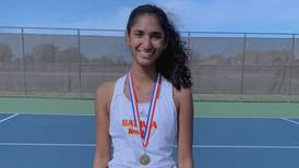 Kane County Chronicle Athlete of the Week: Dhruthi Daggubati, Batavia, tennis, junior