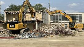 Photos: Demolition begins on former DeKalb city hall