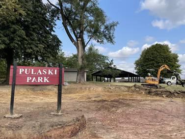 Photos: EPA removes soil at Pulaski Park in La Salle
