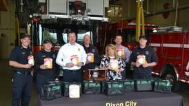 Dixon Fire Department receives 100 10-year smoke detectors
