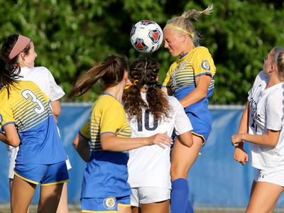 Girls Soccer: 'I wanted to enjoy the moment' Elli Kosanovich, Lyons celebrate achievement of second place in state, near-unbeaten season