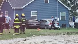Double trouble — 2 cars crash into Rockdale home