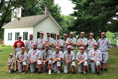 Oregon's vintage base ball team to play at Field of Dreams in 2022
